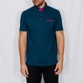 Digital Print Polo Shirt – ICED - Petrol