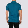 Cotton Polo Shirt - IDAHO - Teal