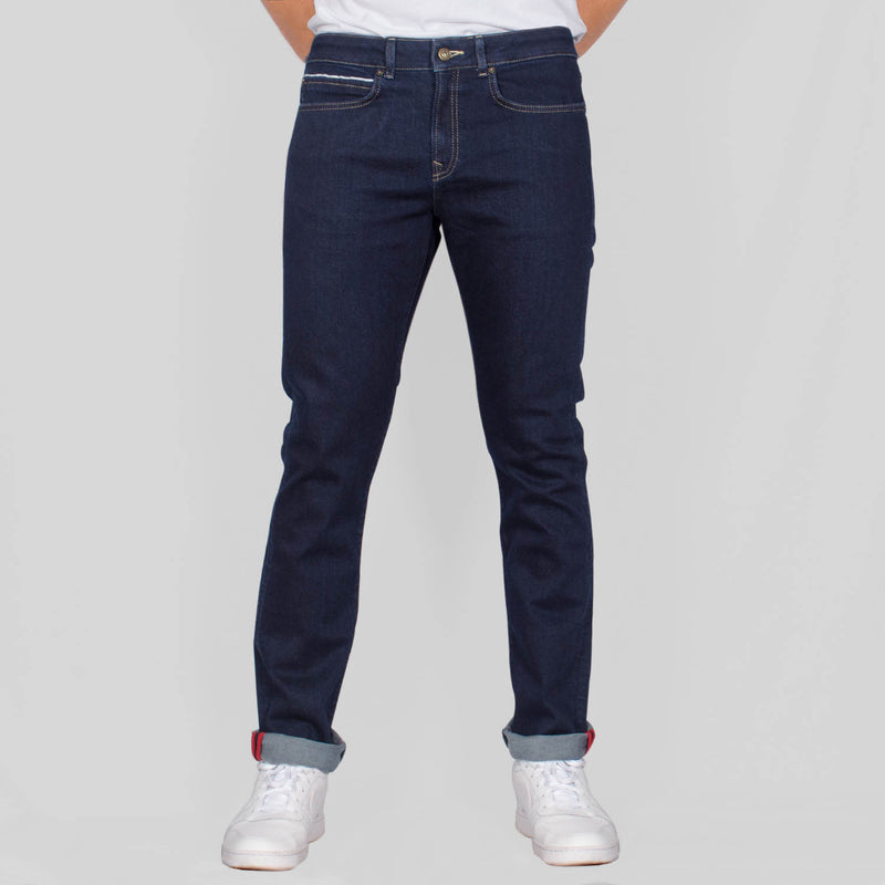 Slim Fit Denim Jeans - IGGY - Rinse Wash Blue