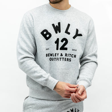 Crew Neck Sweat - ORBIS - Grey Marl