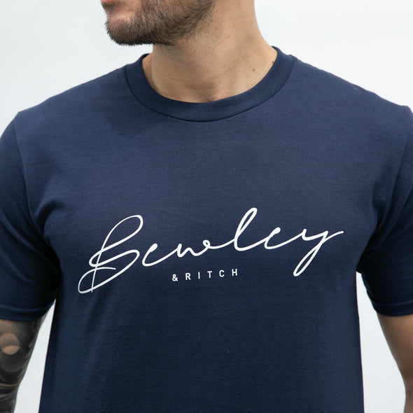 Regular Fit Cotton T-shirt - STURGE - Navy