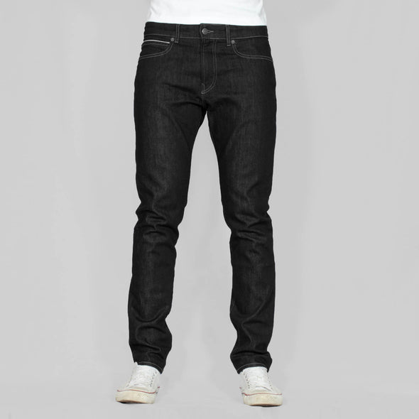 Slim Fit Denim Jeans - JOHNNY - Black