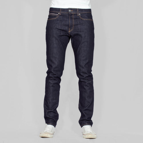 Slim Fit Denim Jeans - JOHNNY - Blue