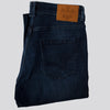 Straight Fit Denim Jeans With Stretch - LEVER - Mid Wash Blue