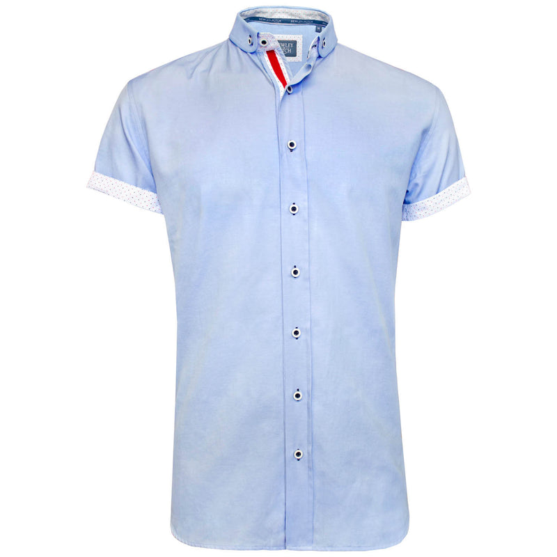 Mised sky short sleeved shirt Bewley and Ritch
