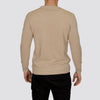 Lightweight Crew Neck Jumper - MONTAN - Oatmeal