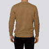 Lightweight Crew Neck Jumper - MONTAN - Tan