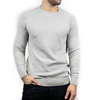 Lightweight Crew Neck Jumper - PEELER - Grey