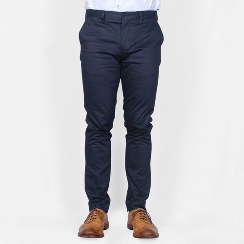 Straight Leg Chinos – PHILLIP - Navy