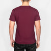Regular Fit Cotton T-Shirt - ROMAN - Burgundy