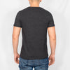 Regular Fit Cotton T-Shirt - ROMAN - Charcoal Marl