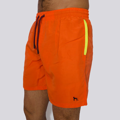 Swim Shorts - SAND - Orange