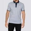 Patterned Polo Shirt - WAK - White