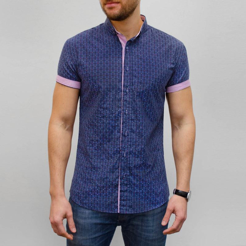 WEAVE - Navy Check