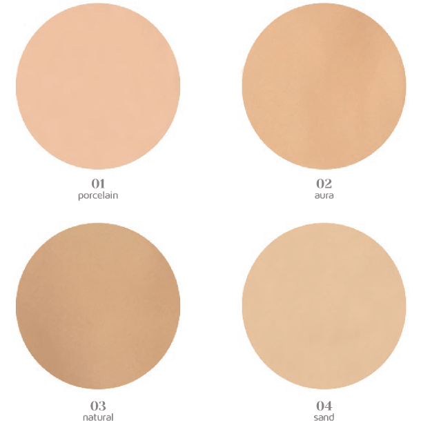 Dali Cosmetics Compact Foundation