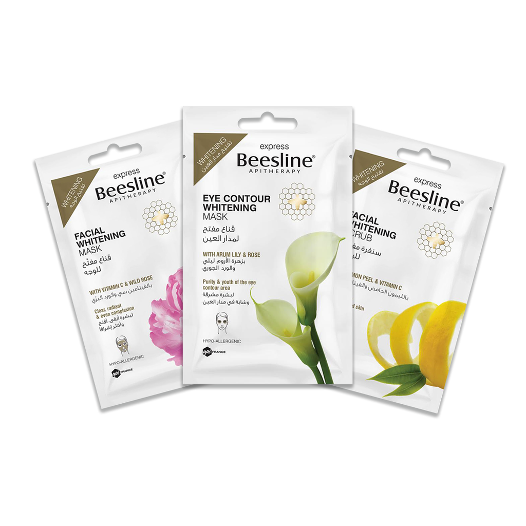 Beesline Express Whitening Routine - 3 Masks