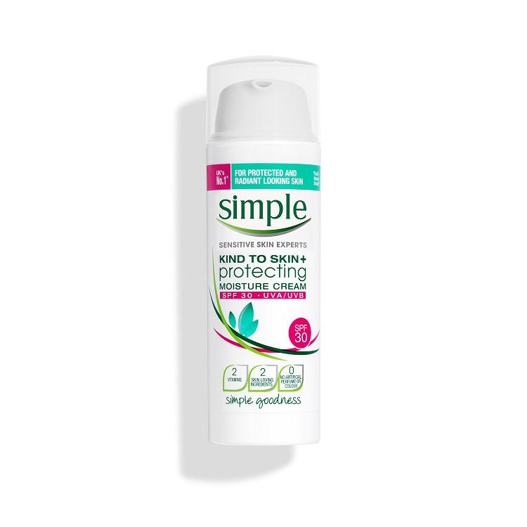 Simple Protecting Moisturizing Cream with SPF30 50ml