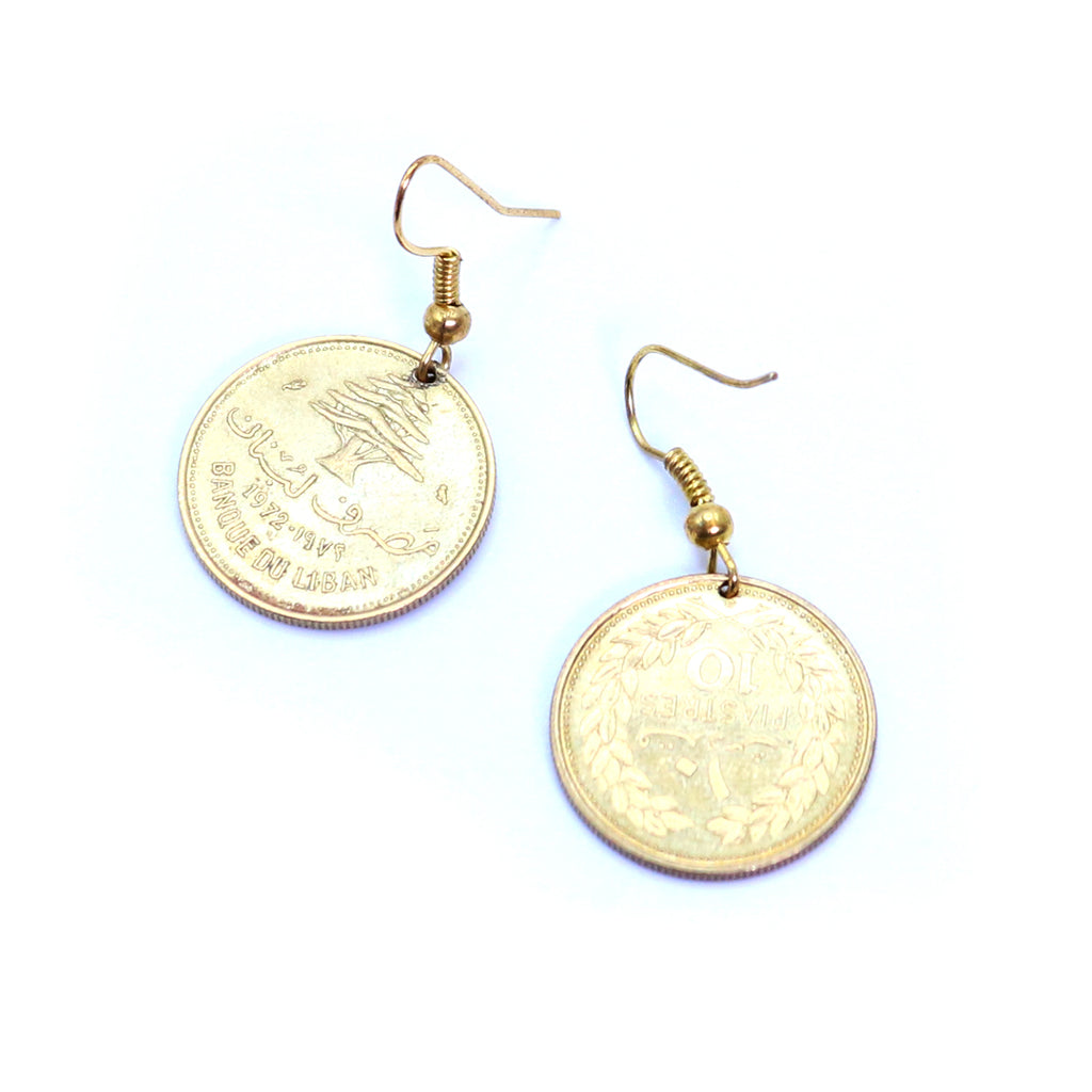 My Lebanon Lira Earrings