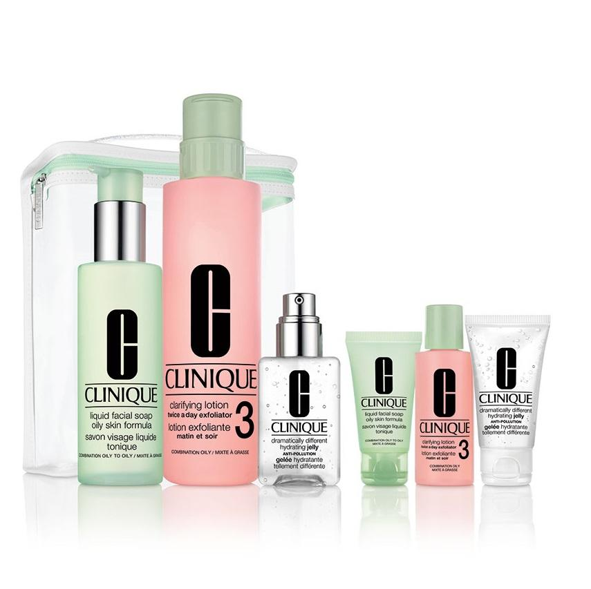 Clinique Great Skin Anywhere Skin Types 3 & 4 - Combination & Oily Skin