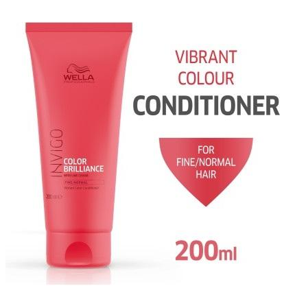 Wella Professional Invigo Color Brilliance Conditioner for Coarse Hair