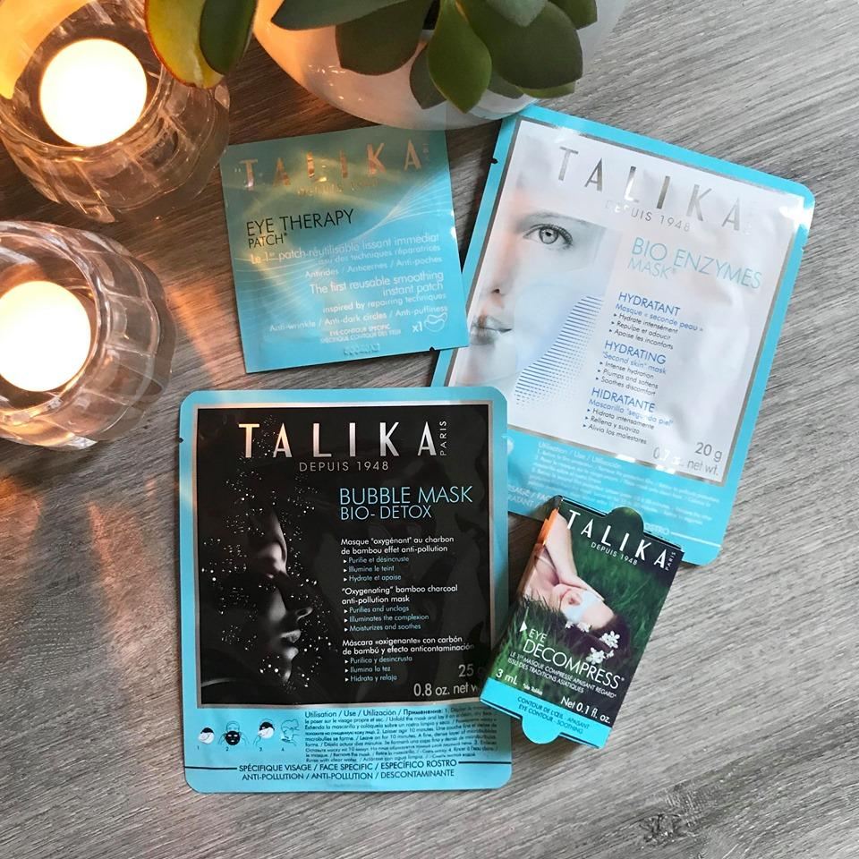 Talika Instant Beauty Kit  - 4 Masks Skin Preparation & Recovery Essentials