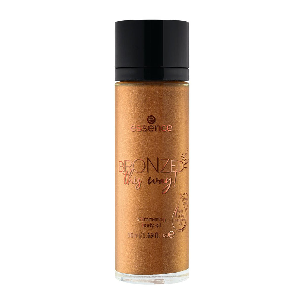 Essence Bronzed This Way! Shimmering Body Oil 01 Oil I Want Is Sun!