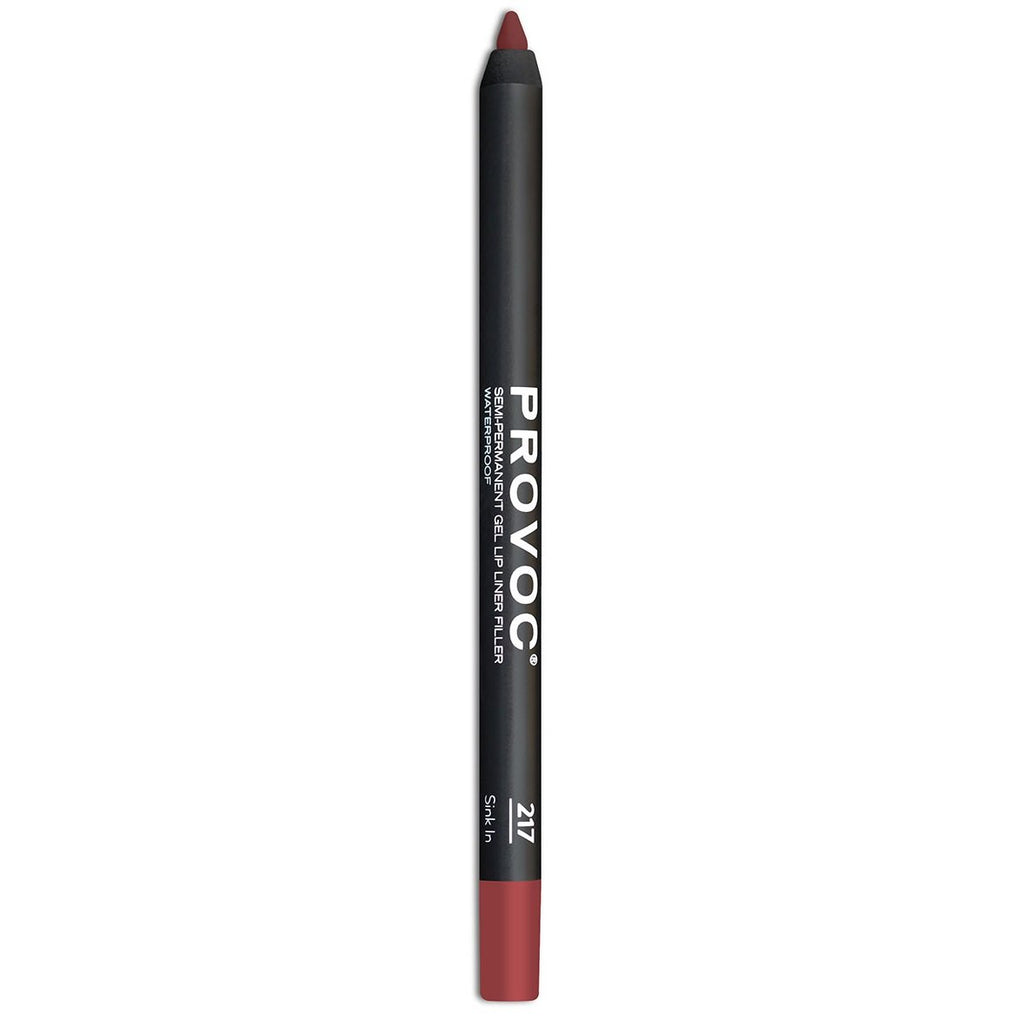 Provoc Semi-Permanent Shimmery Gel Lip Liner Waterproof