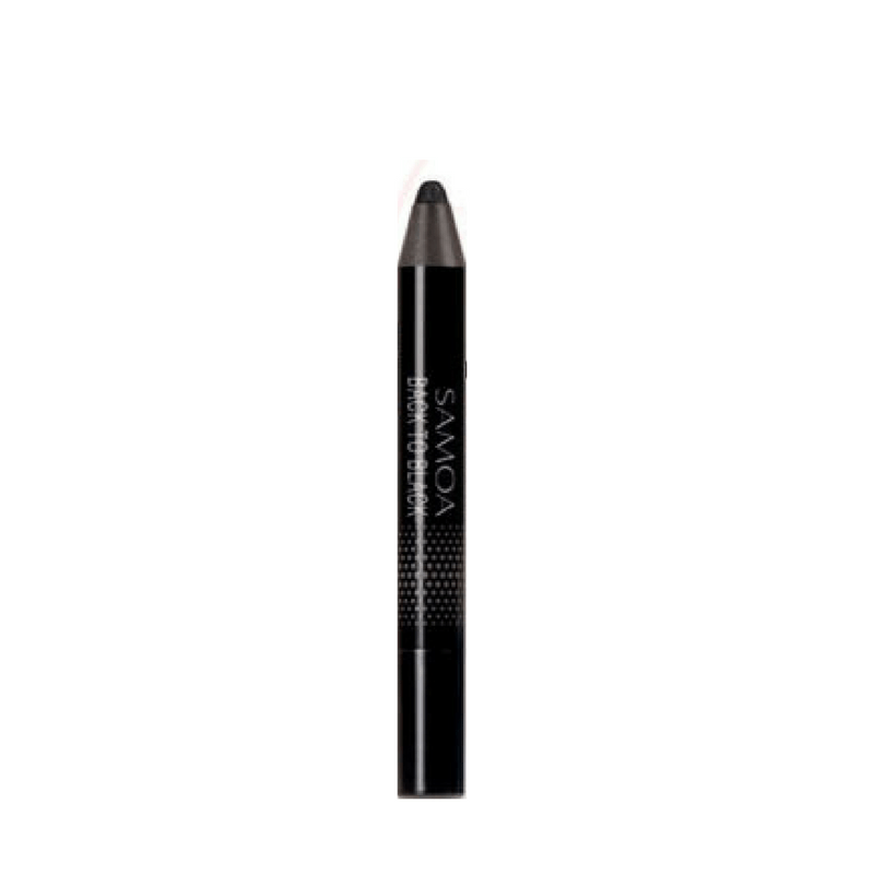 Samoa Back to Black Metallic Black Eye Shadow/Liner