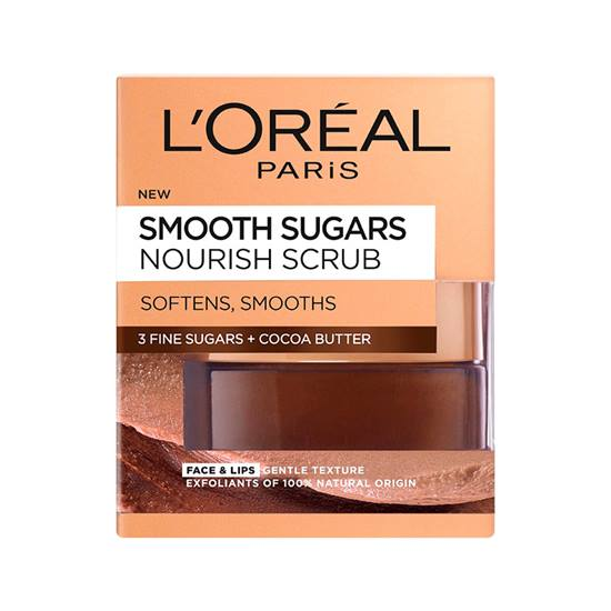 L'Oreal Paris Smooth Sugar Nourish Scrub