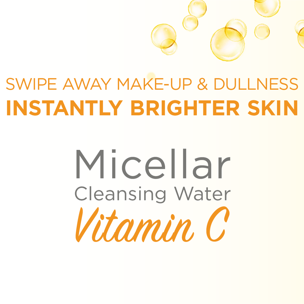 Garnier Micellar Brightening Cleanser Water with Vitamin C