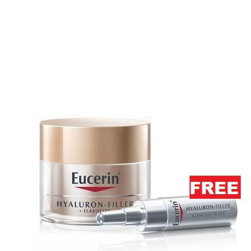Eucerin July Offer: Free Hyaluron Filler Concentrate Ampoule with Every Anti Age Product