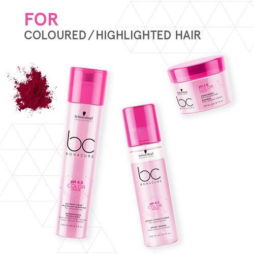 Schwarzkopf Professional BC Bonacure pH 4.5 Color Freeze Rich Micellar Shampoo 250ml