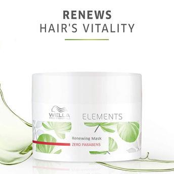Wella Professionals Elements Renewing Hair Mask - Paraben Free