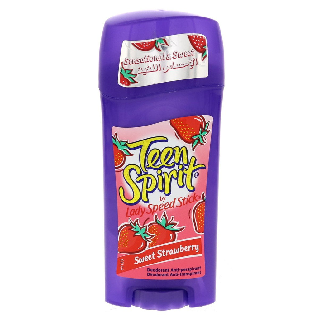 Lady Speed Stick Teen Spirit Sweet Strawberry Anti-Perspirant Deodorant 65g