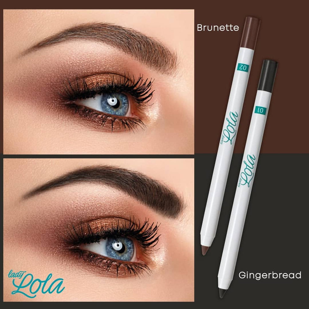 Lady Lola Long Lasting Waterproof Eyebrow Pencil