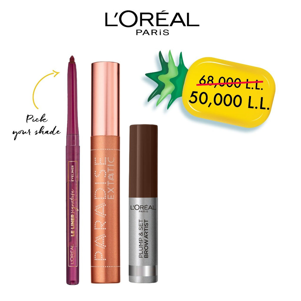L'Oreal Paris Exclusive Offer: Foxy Eye Liner Bundle 26% Off