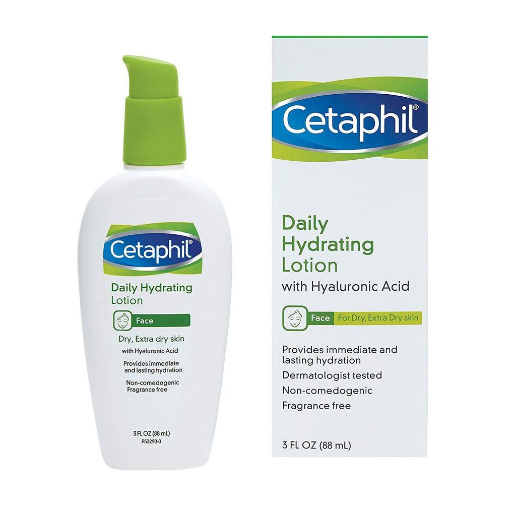 Cetaphil Daily Hydrating Lotion with Hyaluronic Acid - Dry Skin