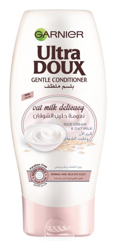 Garnier Ultra Doux Rice Cream & Oat Milk Conditioner