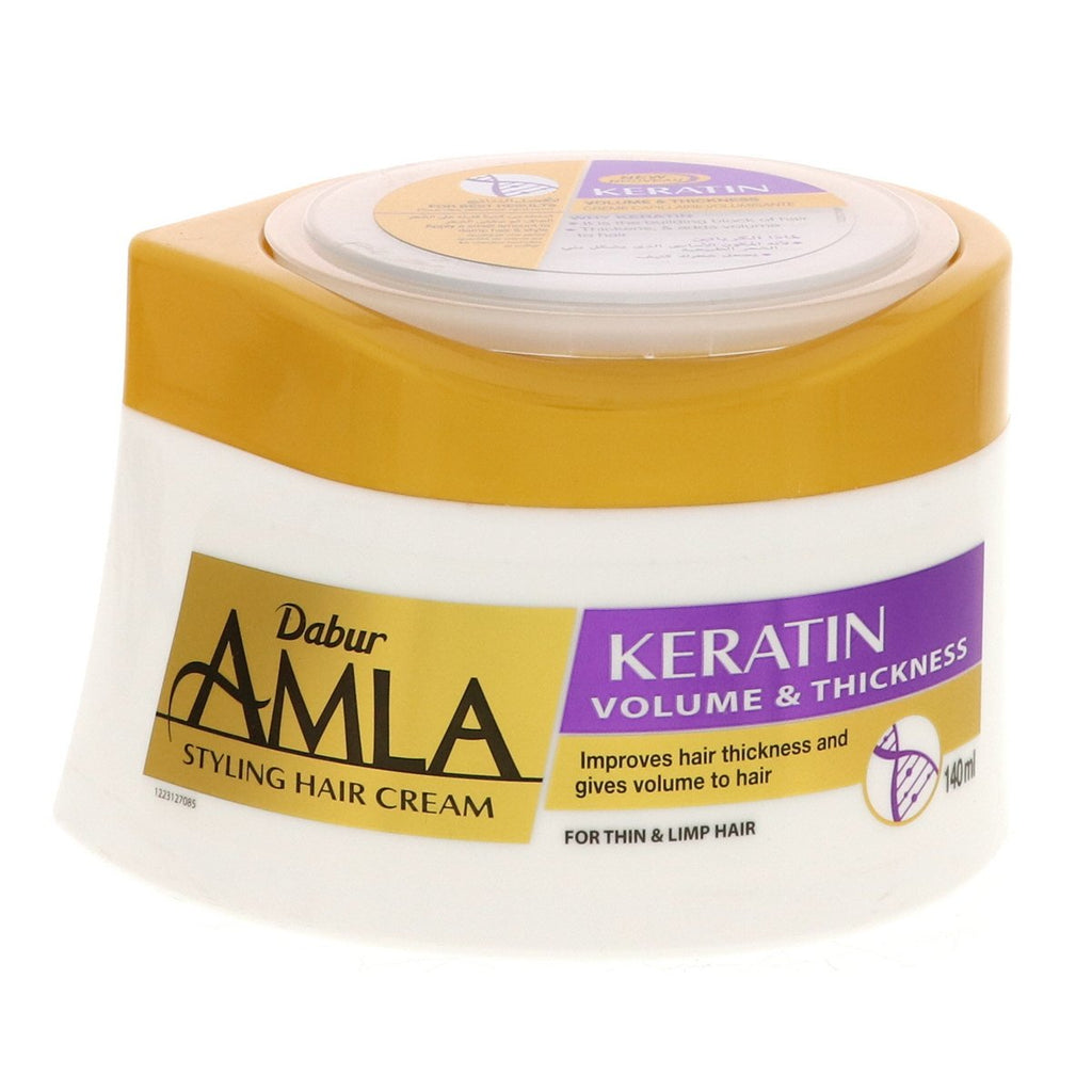 Dabur Amla Volumizing Keratin Hair Cream - 140ml