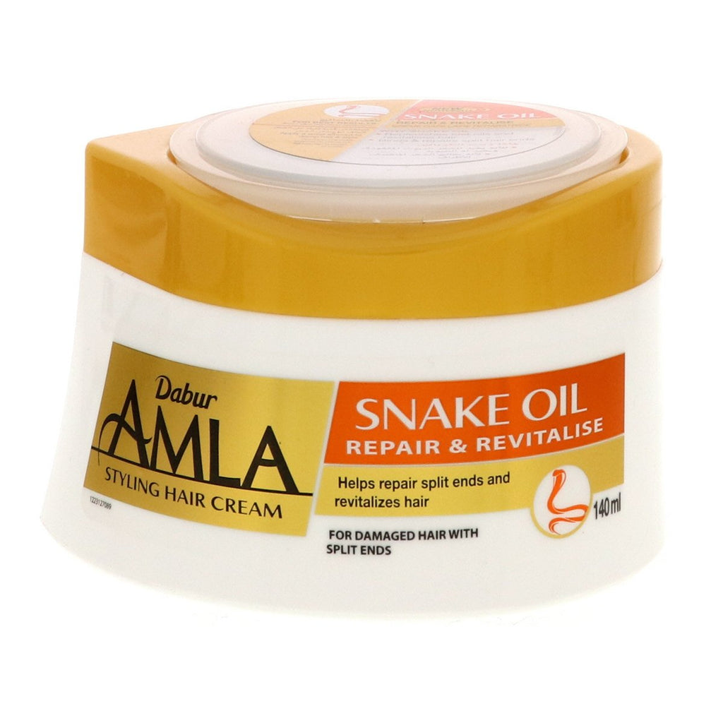 Dabur Amla Intensive Repair Snake Oil Hair Cream - 140ml