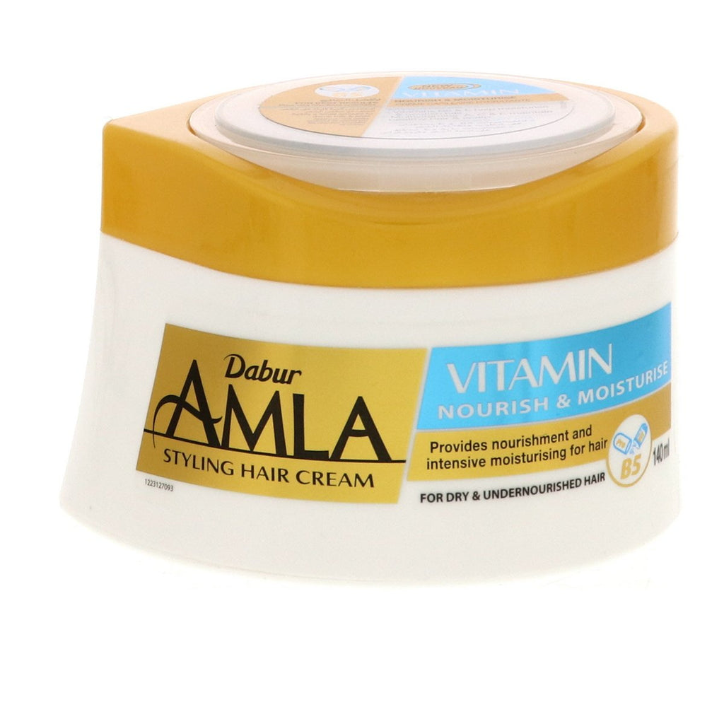 Dabur Amla Intensive Moisturizing Vitamin Hair Cream - 140ml