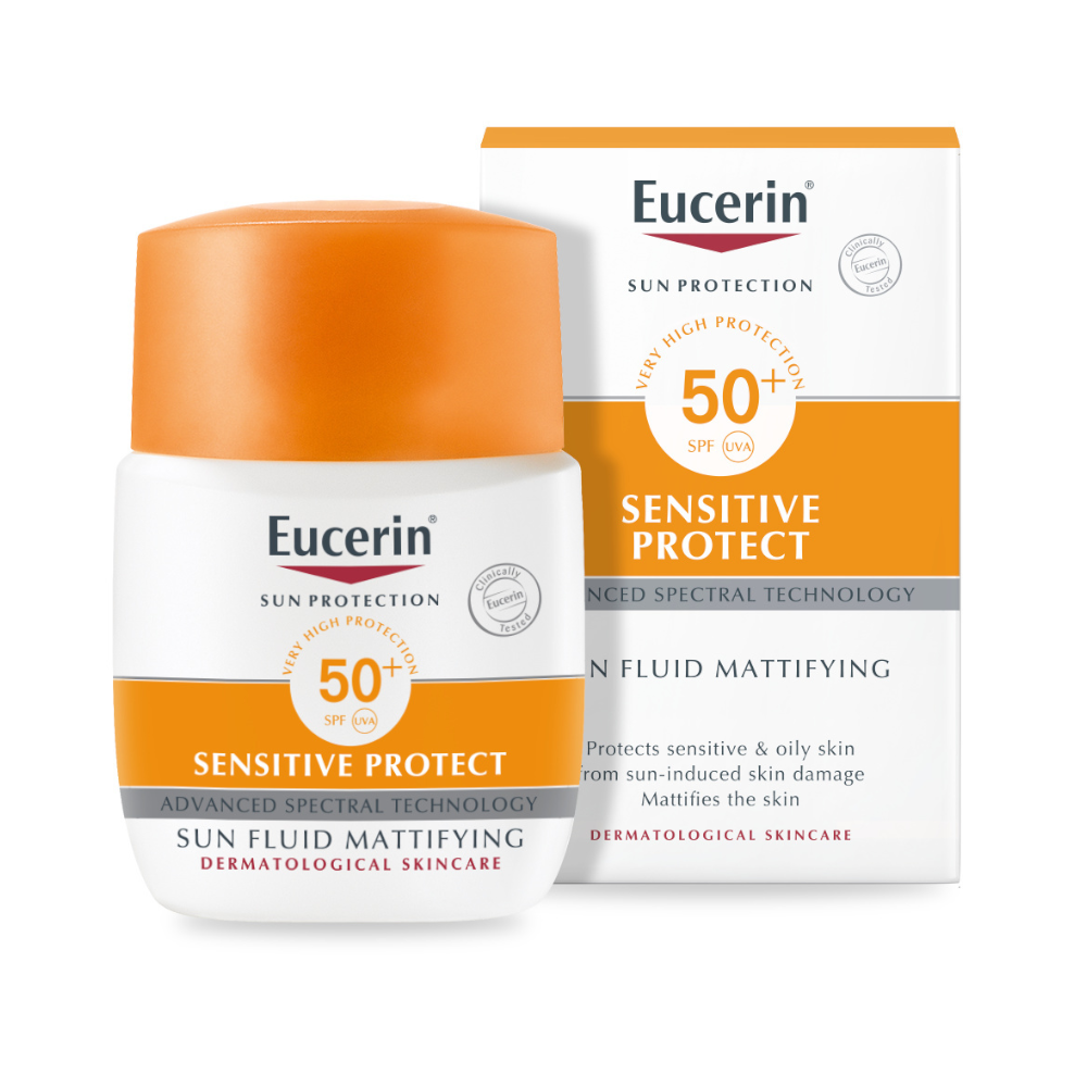 Eucerin Sun Face Mattifying Fluid SPF 50+ 50ml