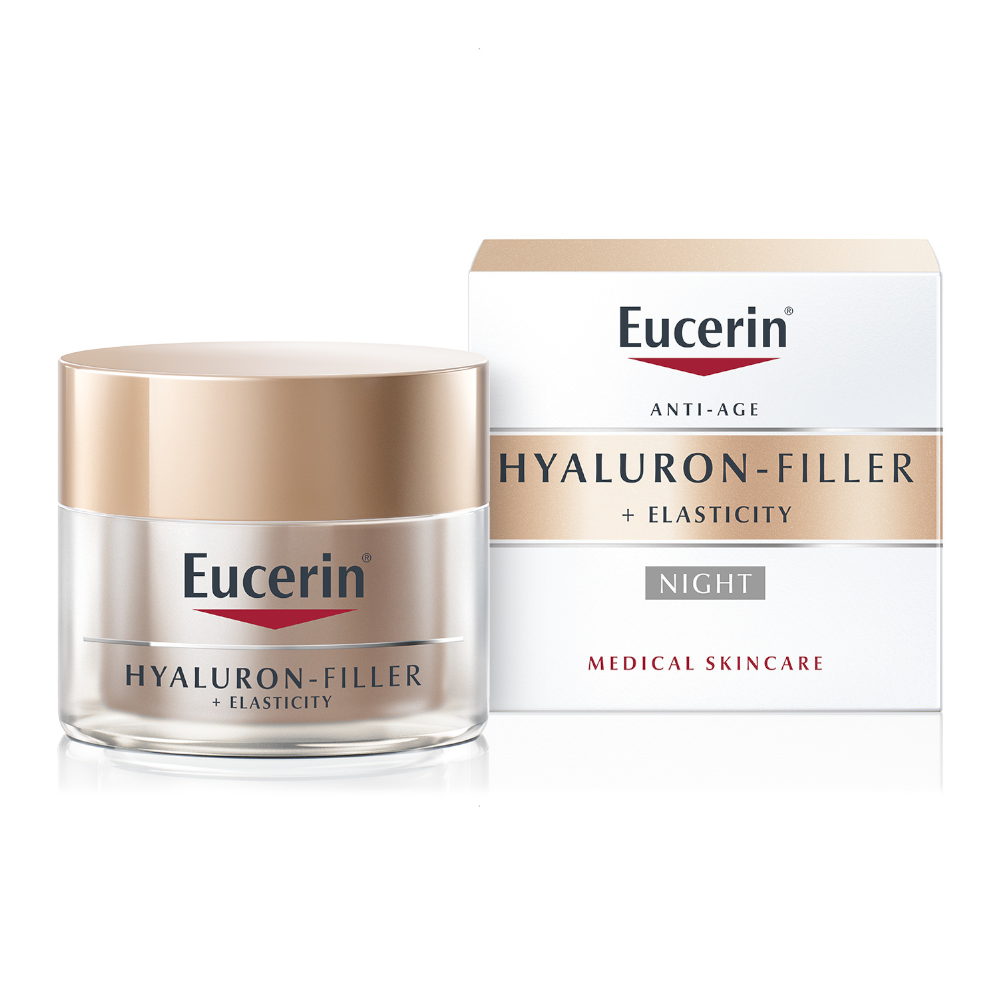 Eucerin Hyaluron-Filler + Elasticity Night Cream 50ml