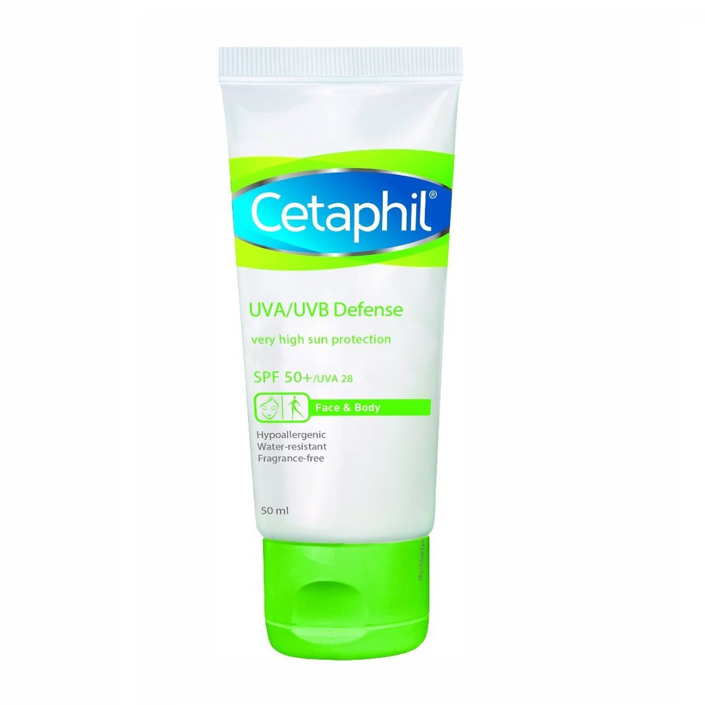 Cetaphil UVA/UVB Defense SPF50 Facial Cream