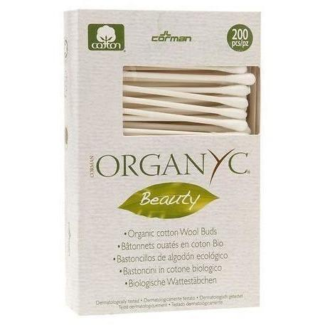 L'Organique Beauty Cotton Buds - 200 Cotton Swabs