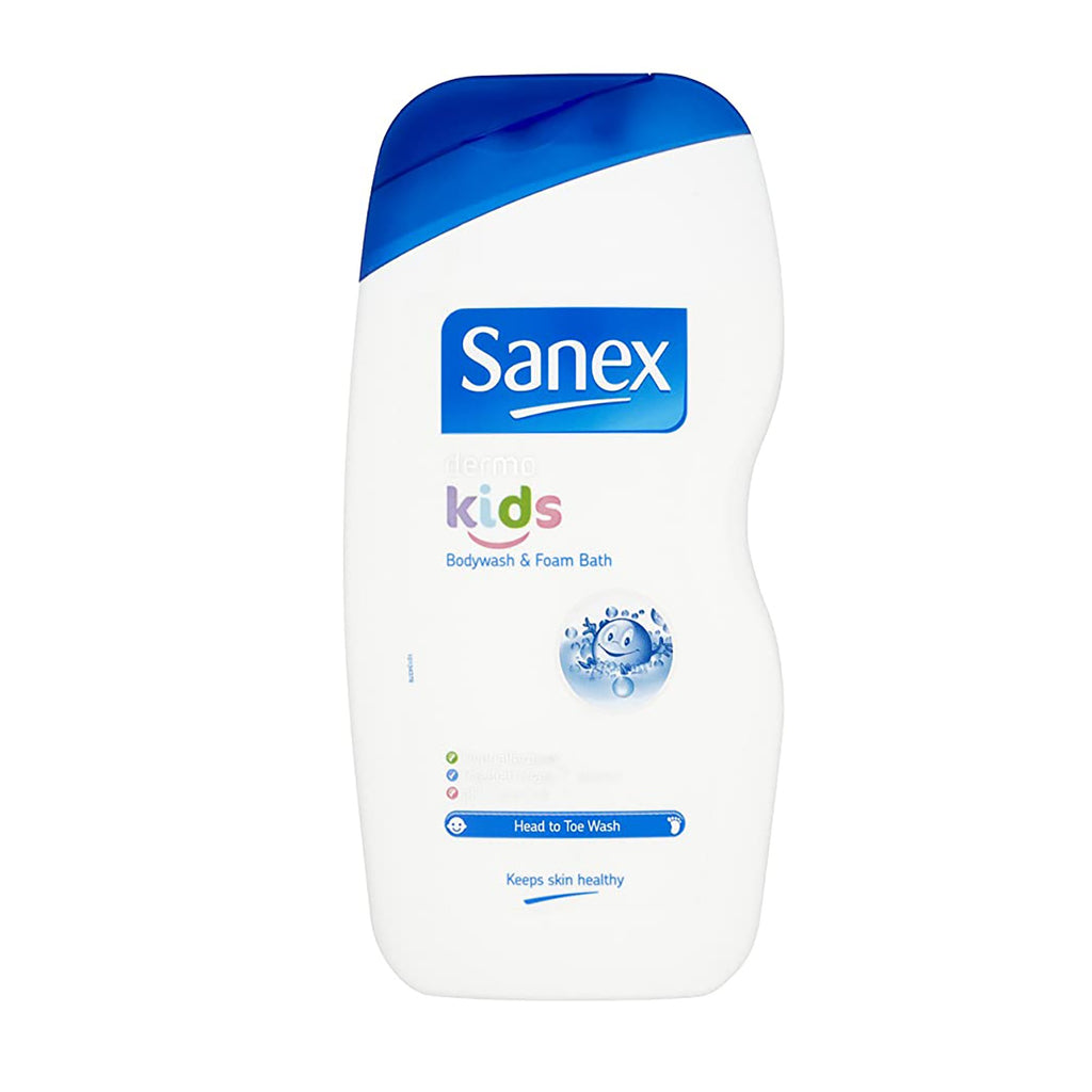 Sanex Dermo Kids Shower Gel & Bubble Bath Foam