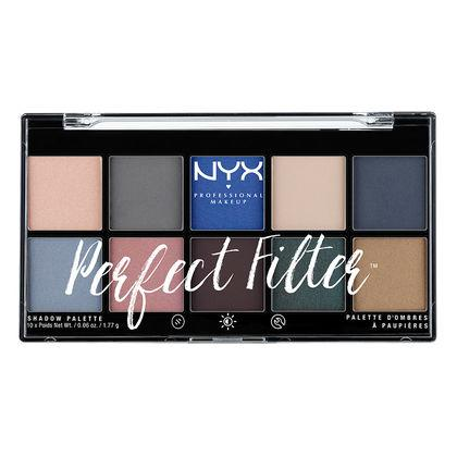 Discontinued - NYX Professional Makeup Perfect Filter Shadow Palette