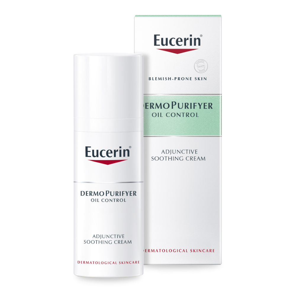 Eucerin DermoPurifyer Acne-Prone Skin Adjunctive Soothing Cream