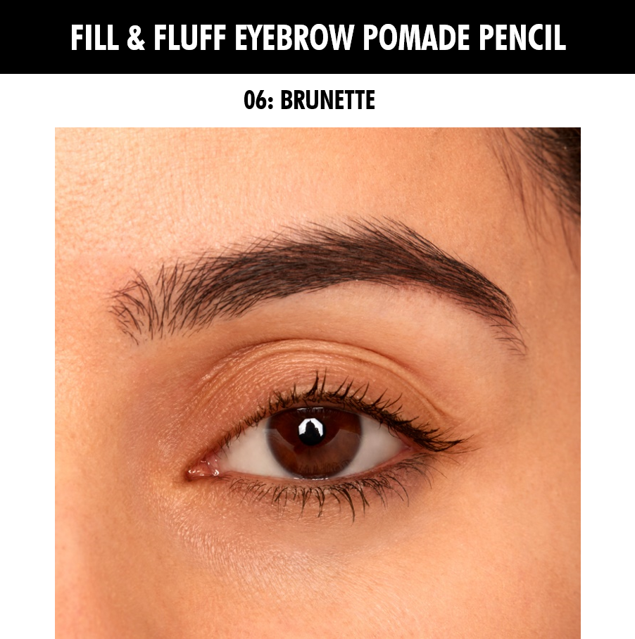 Nyx Professional Makeup Fill & Fluff Eyebrow Pomade Pencil