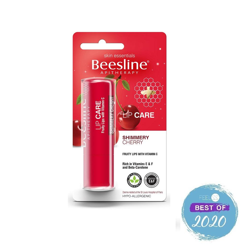 Beesline Lip Care Shimmery Cherry 4.5 g
